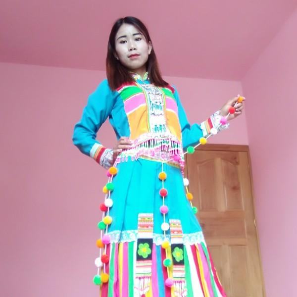 缅甸傈僳小姐