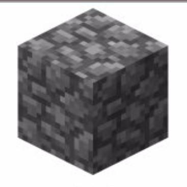 MINECRAET方块的祖先_圆石