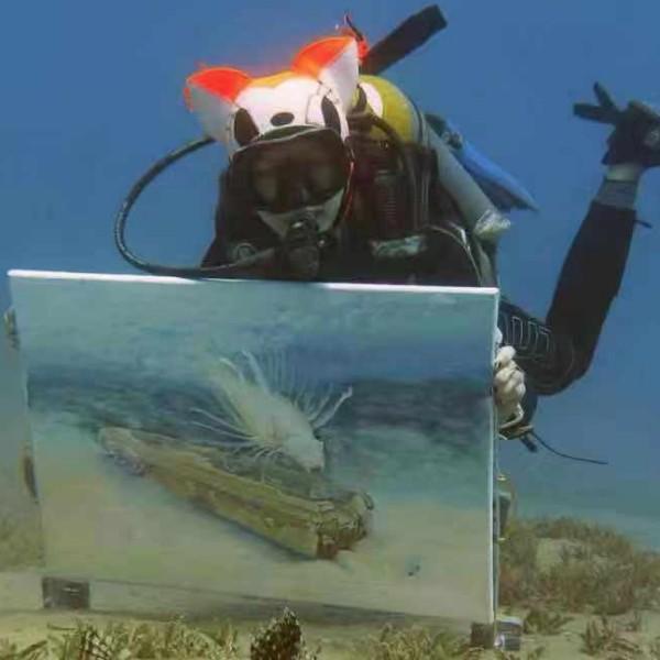 OlgaBelka水下画家