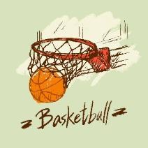 篮球的爱好者