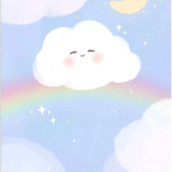 白云的偏爱只给彩虹