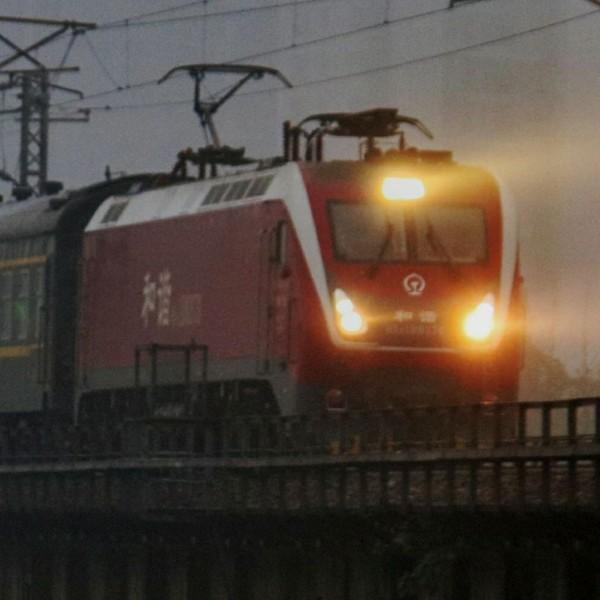 记忆中的列车T8315