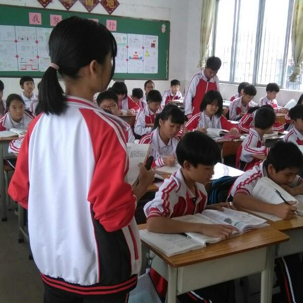 阳春合中语文课堂