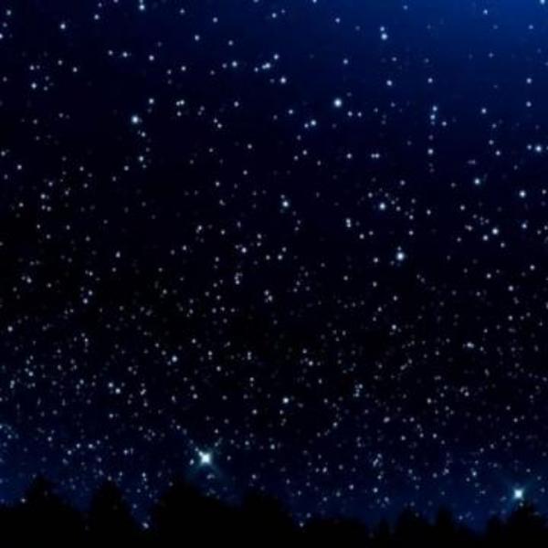 神秘的星空解说