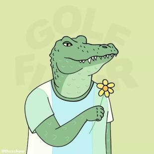 池塘边的鳄鱼先生
