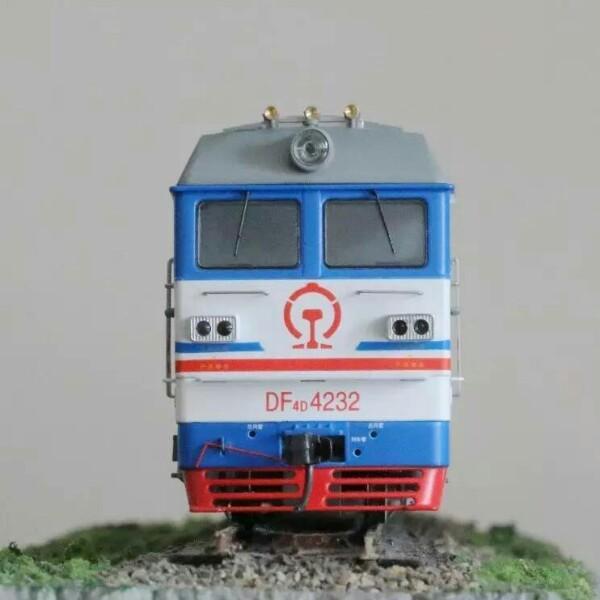 DF4B-1229上局沪段机车