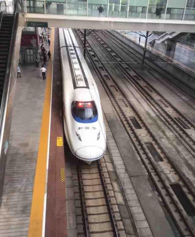 京沪线常州站