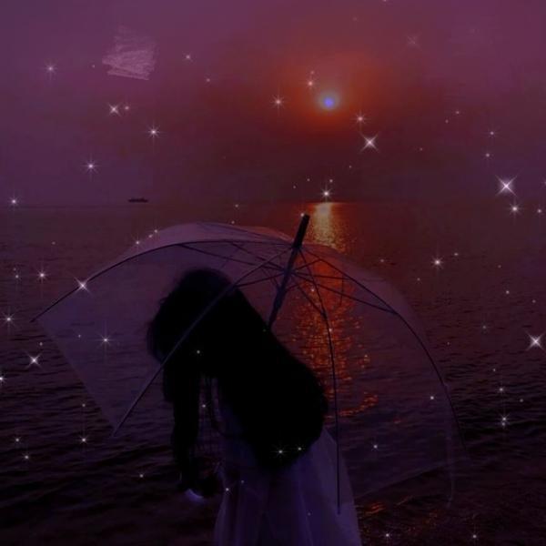 宣怡陪星碎去看流星雨