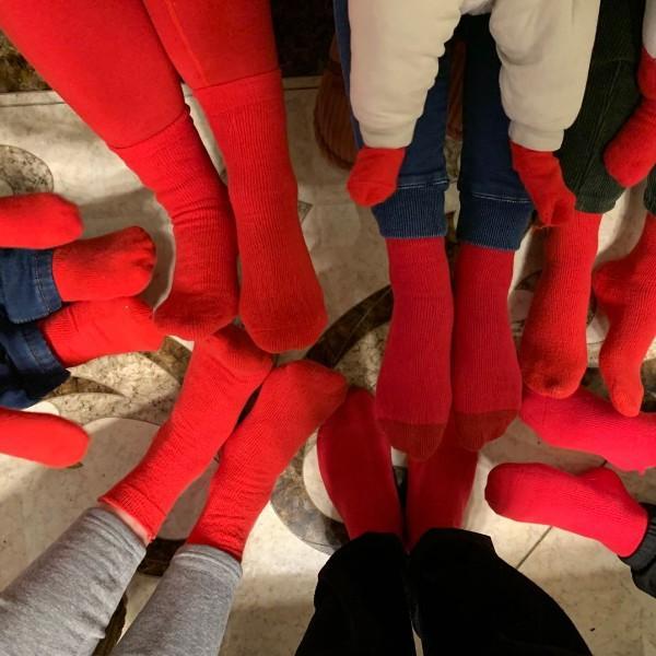 迷恋袜子线编织教程