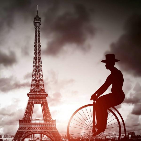 埃菲尔铁塔上的巴黎