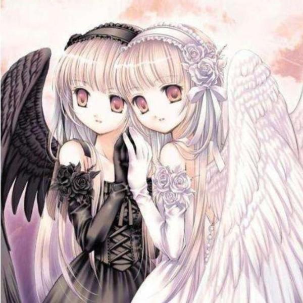 白凤凰和墨莉安