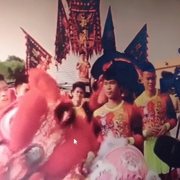 海口三江舞狮人