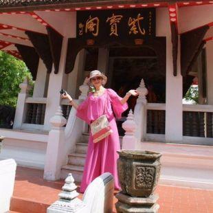 上海红舞裙