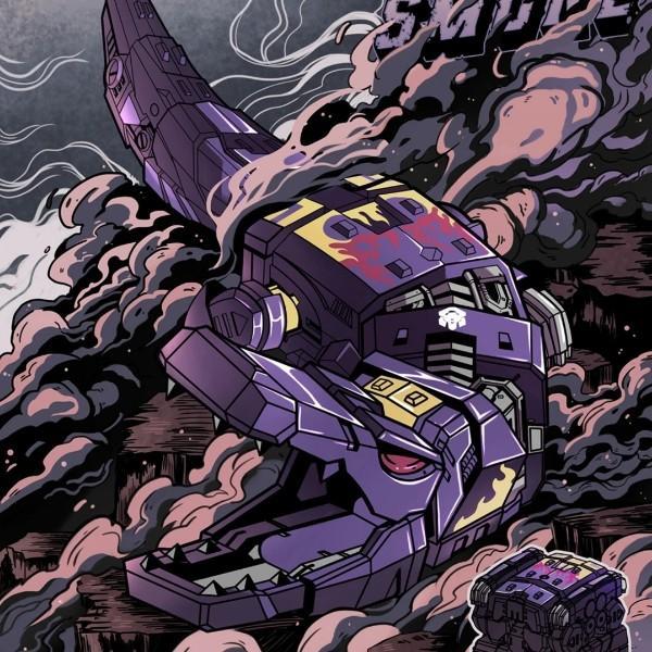 紫鳄鱼浓烟