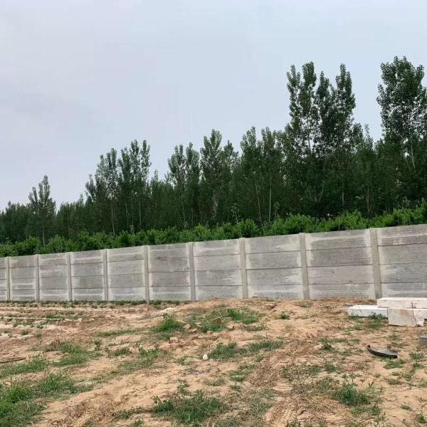 新型水泥板围墙
