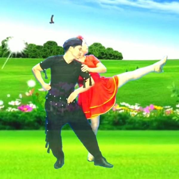 飞扬双人舞