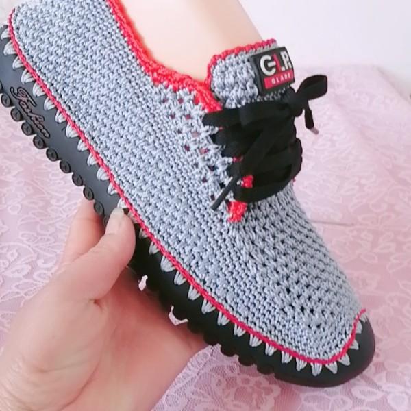 平安编织鞋