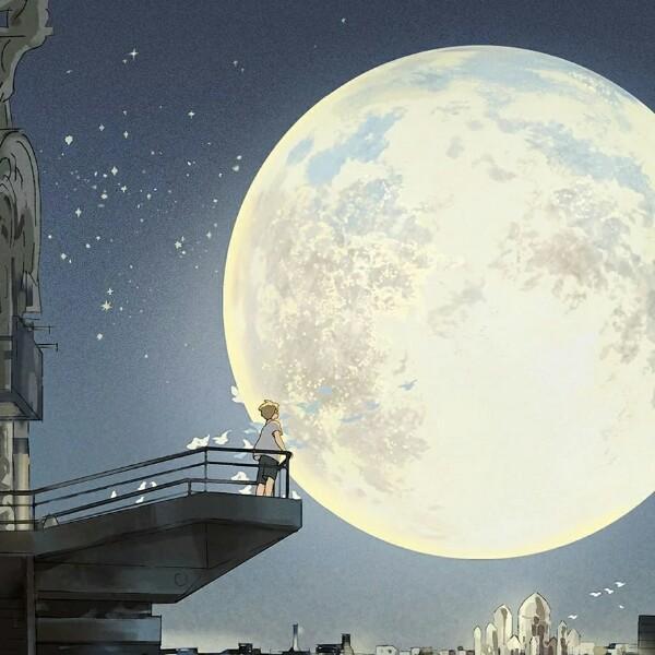 月亮与星星底语