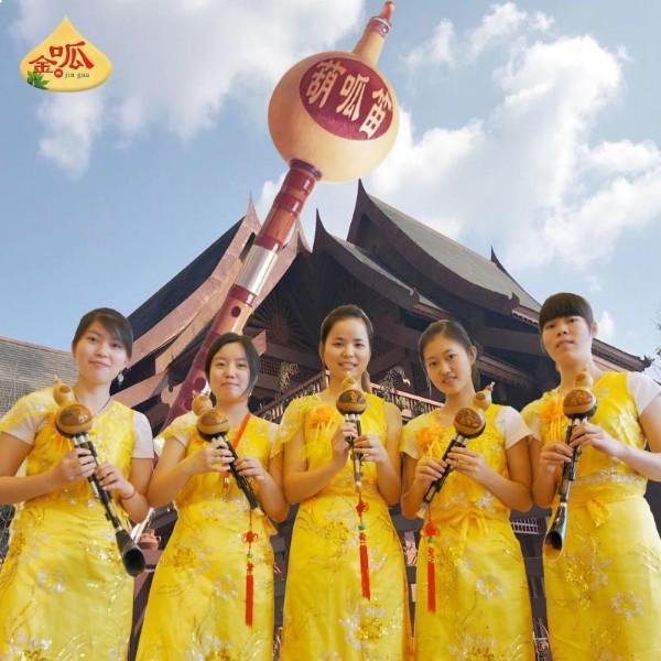 云南金呱葫笛与葫芦丝